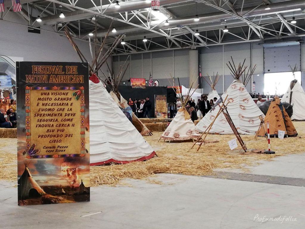 Roma incontra il mondo: padiglione dei nativi americani