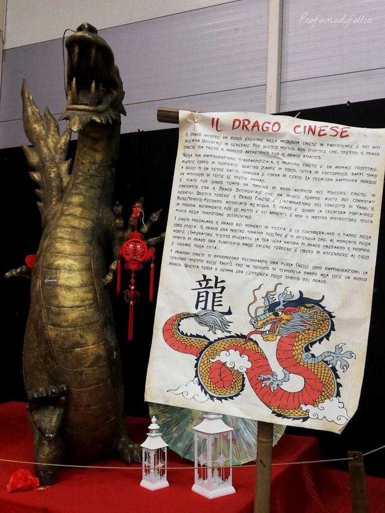 Festival dell'Oriente di Roma: drago cinese