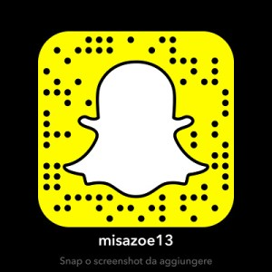 Snapcode di misazoe13