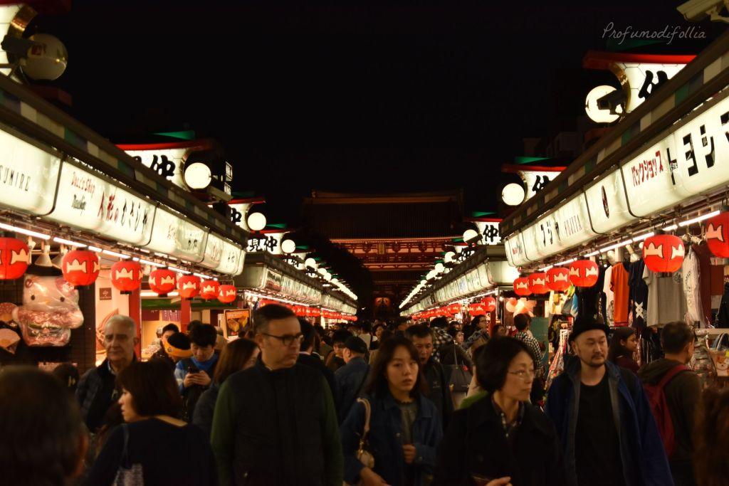 Visita ad Arashiyama: Nakamise dori