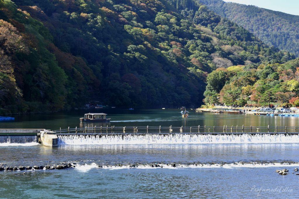 Visita ad Arashiyama: il fiume tra le montagne