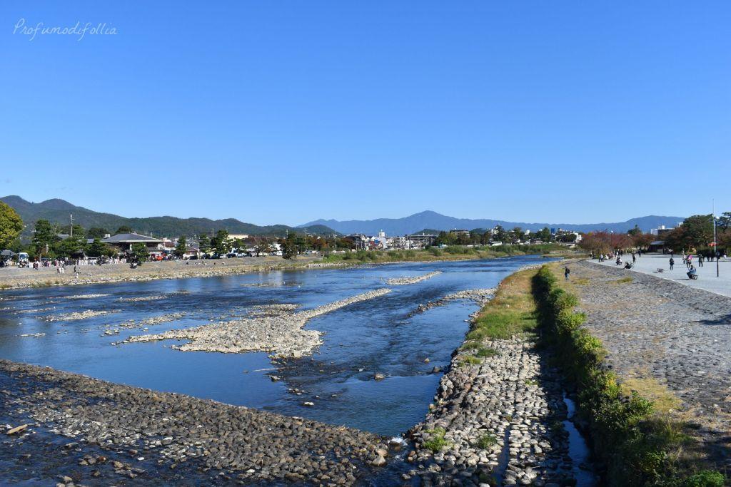 Visita ad Arashiyama: il fiume che scorre a valle