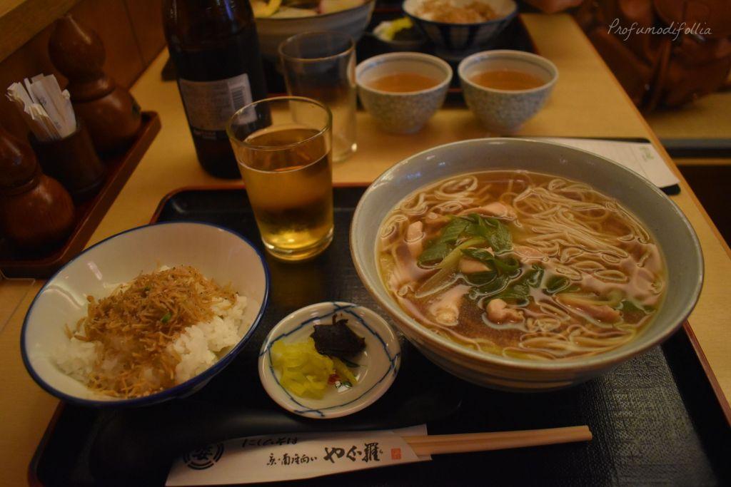 Alla scoperta di Kyoto, diario di viaggio - soba e udon