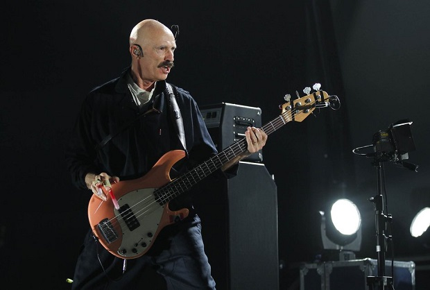 Tony Levin on tour with Peter Gabriel