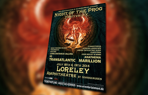 Night of the Prog IX poster