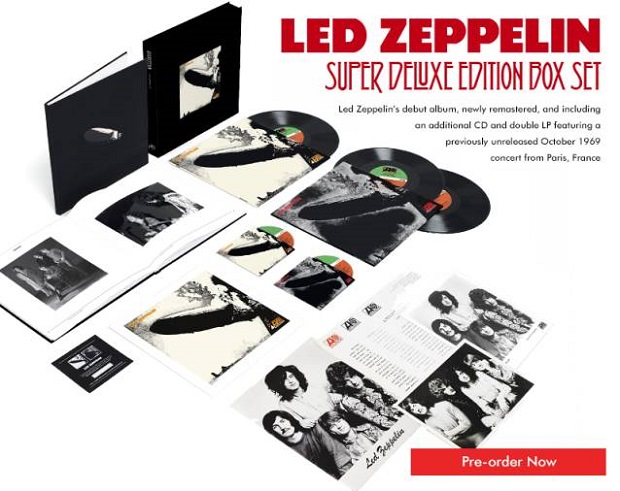Led Zeppelin deluxe edition box set