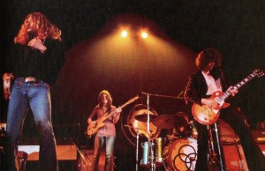 Led Zeppelin in 1971