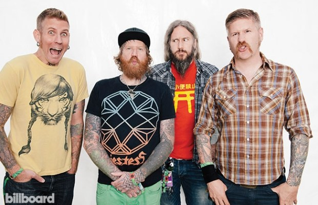 """Mastodon cracks U.S. Top 10 with their new album """"Once More 'Round the Sun"""""""