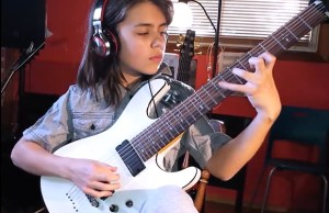 "VIDEO: 12 Year Old Vincent Brzezinski Shreds CONQUERING DYSTOPIA's ""Ashes Of Lesser Men"""