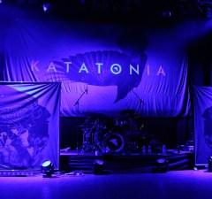 Katatonia live at the Shepherd's Bush Empire in London, 21.10.2016.