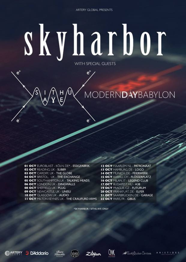 Skyharbor European Tour 2016