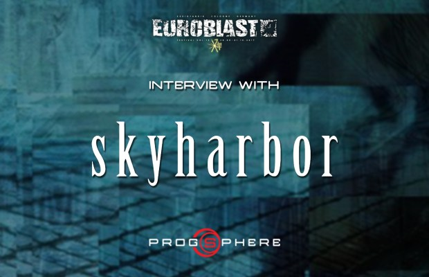 Skyharbor interview at the Euroblast Festival 2016