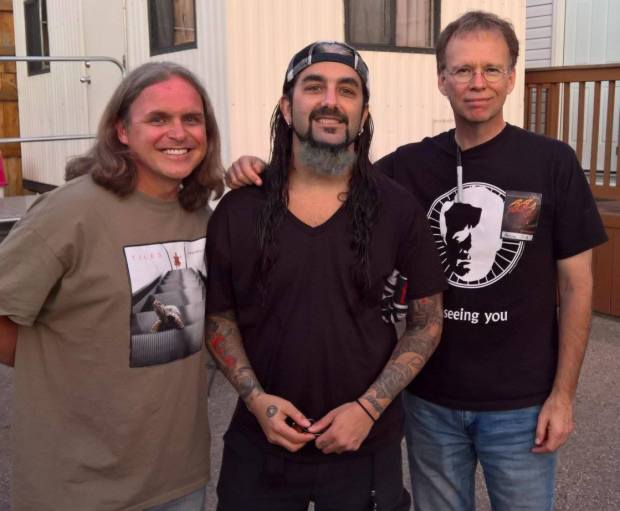 Jeff Whittle, Mike Portnoy, Chris Herin