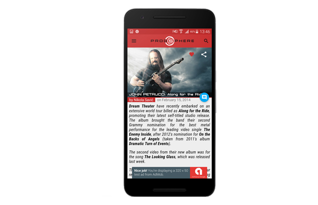 Prog Sphere Android App