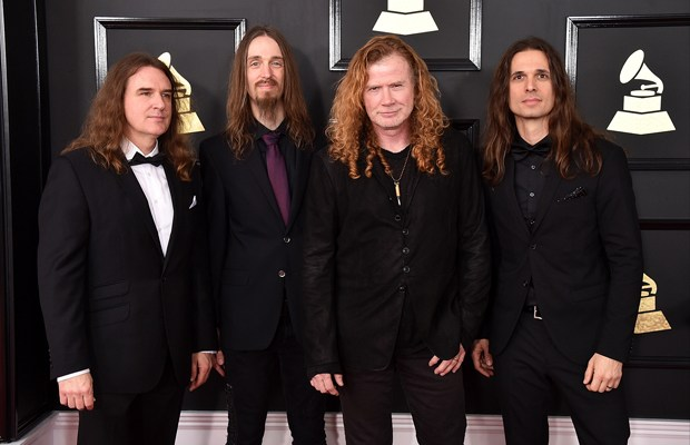 Megadeth at Grammy's