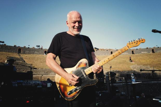 David Gilmour at Pompeii