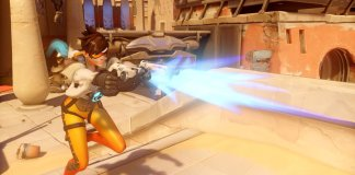 Image of in-game play in Overwatch