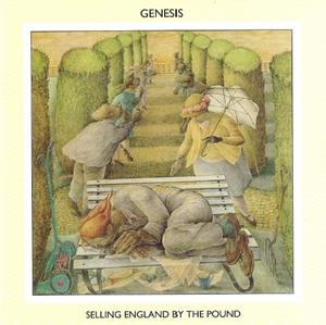 GenesisSelling England By The Pound album cover