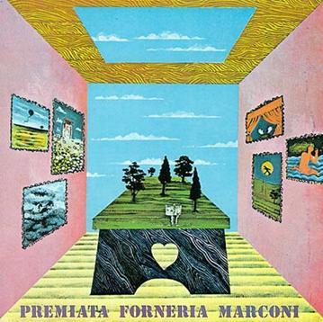 Premiata Forneria Marconi Per Un Amico album cover