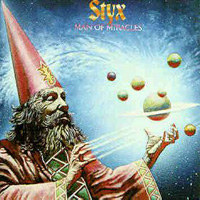 Styx Man of Miracles album cover