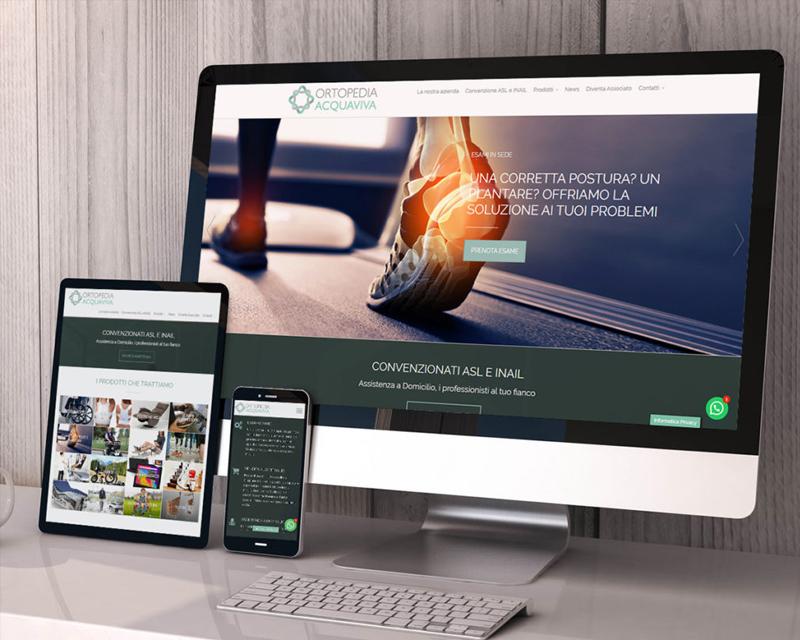 sitoweb ortopedia acquaviva