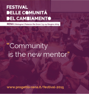 Community is the new mentor
