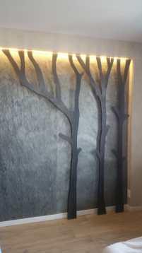 Enitech piante in ferro stilizzate