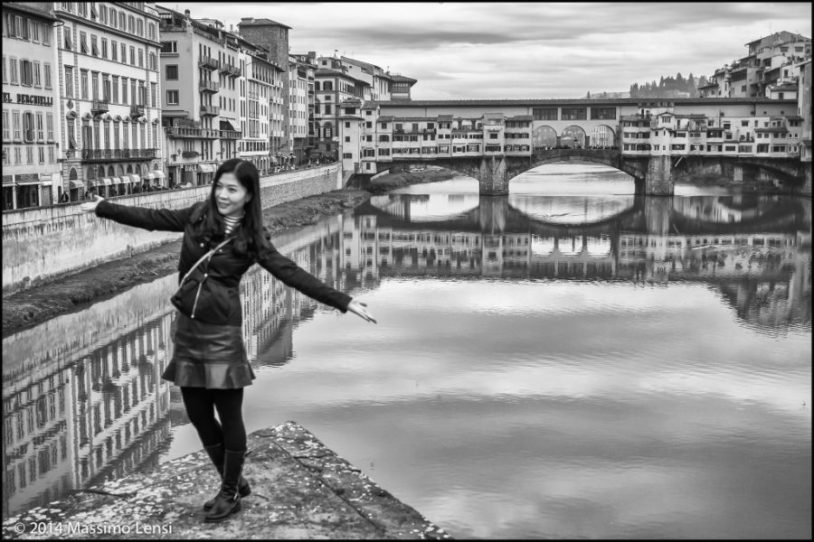 Ponte Santa Trinita, Firenze. © Massimo Lensi