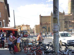 Piazza Stazione, FIrenze. © Grazia Galli