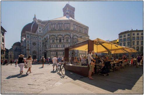 Piazza San Giovanni, Firenze. © Massimo Lensi