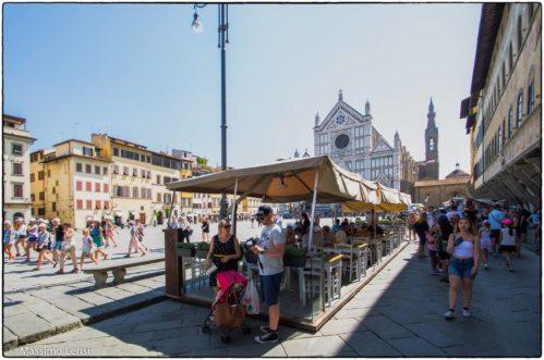 Piazza Santa Croce, Firenze. © Massimo Lensi