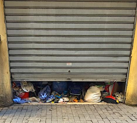 disturbo d'accumulo, garage© Grazia Galli