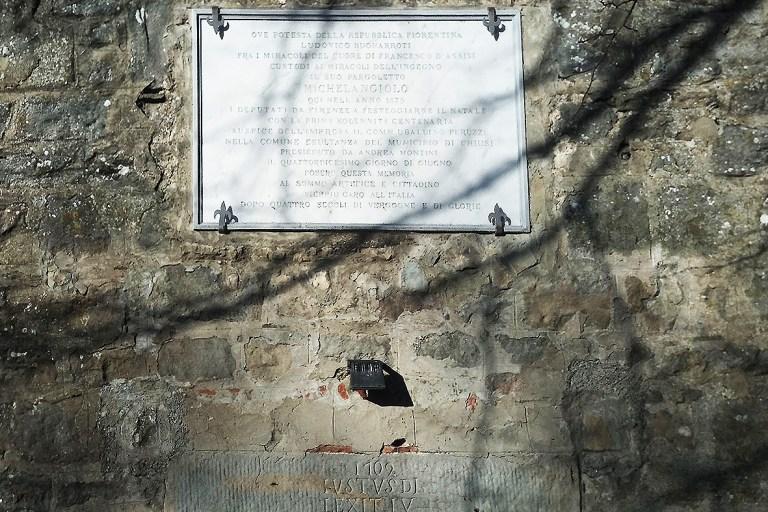Podesteria di Michelangelo - Progettoideal chiusi della verna (©gioia frappi)