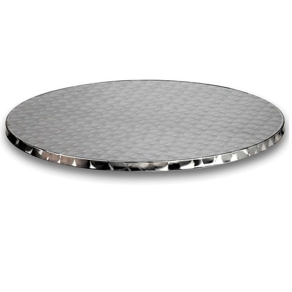 stainless steel 600mm round outdoor table tops