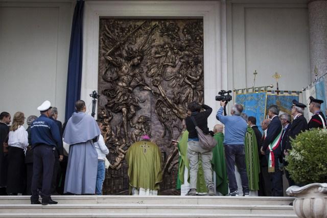 Il bronzo e l'Arcangelo