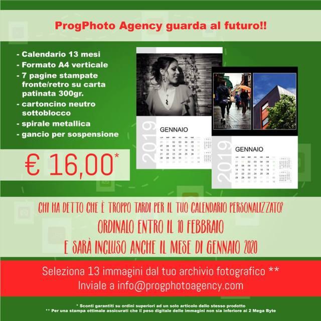 progphoto agency offerta calendario 13 mesi