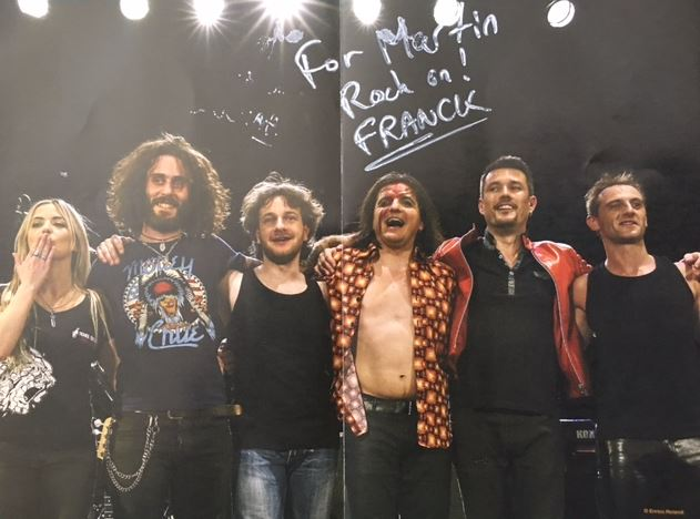 Review – Tearing The Tour Apart (live DVD) – The Franck Carducci band – by Progradar