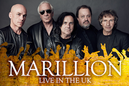 MARILLION ANNOUNCE UK TOUR DATES