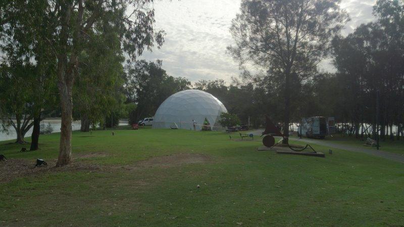 15m silent 3D Disco Dome Glow