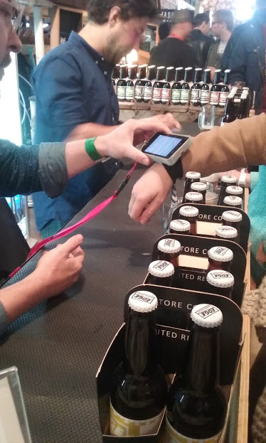 Glownet RFID cashless payment technology replaces drinks tokens for Australian Events