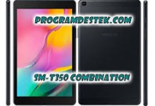 Photo of Galaxy Tab A SM-T350 Combination