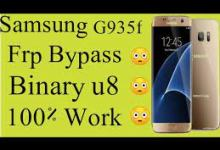 Photo of G935F Android u8 FRP ByPass