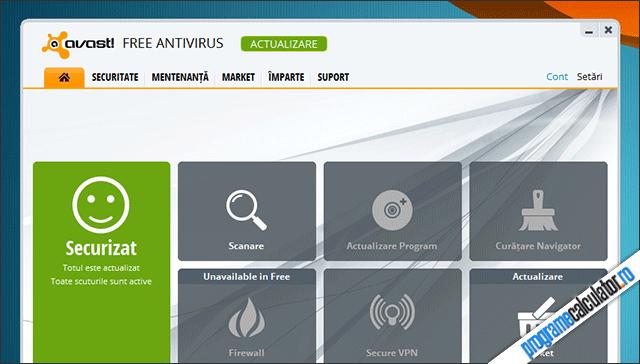 Antivirus gratuit: avast! Free Antivirus