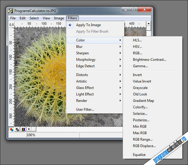 program de modificat imagini PaintStar