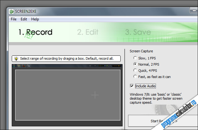 program pentru intergistrat desktopul