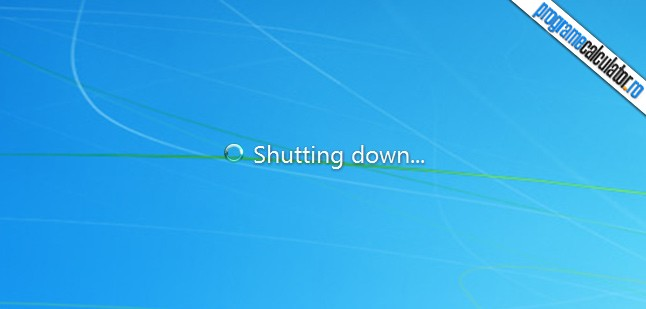 calculatorul se opreste