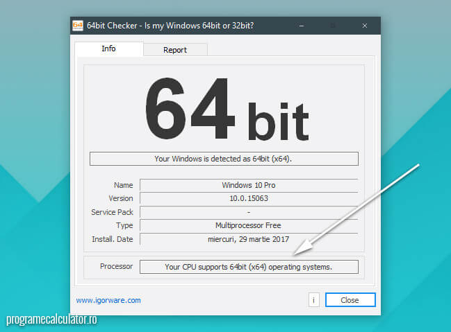 procesor compatibil 64 de biti