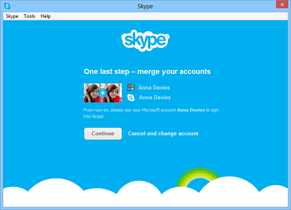 Windows Live Messenger devine Skype