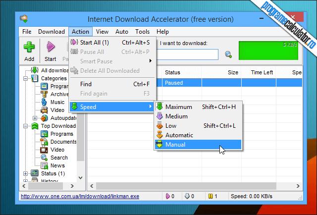 4-Internet Download Accelerator-viteza-download