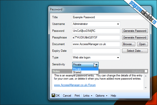 2-Access Manager-generator-parole